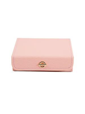 Шкатулка для ювелирных украшений CALVANI. Цвет: бежевый, бледно-розовый