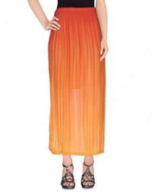 Длинная юбка ED 2.0. Цвет: оранжевый