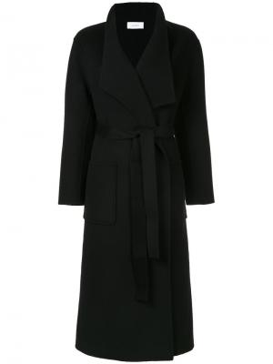 Пальто свободного кроя Astraet. Цвет: чёрный