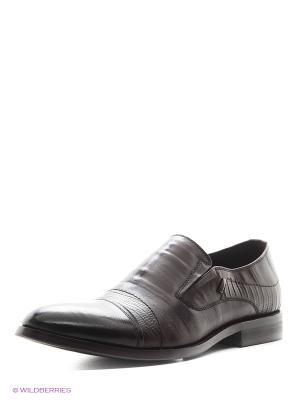 Туфли CARLO BELLINI. Цвет: коричневый