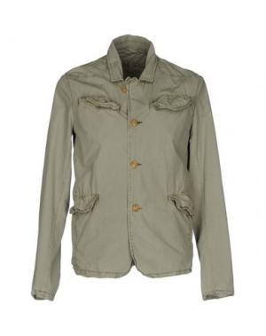 Куртка RED SOUL. Цвет: зеленый-милитари
