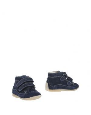 Полусапоги и высокие ботинки EQUERRY. Цвет: темно-синий