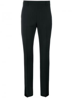Прямые брюки Tomas Maier. Цвет: чёрный