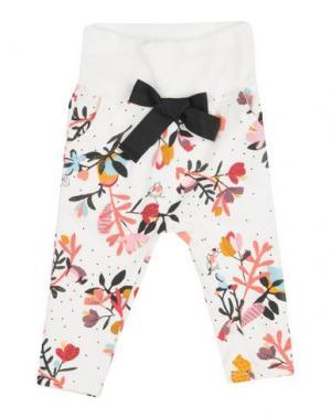 Повседневные брюки CATIMINI. Цвет: белый