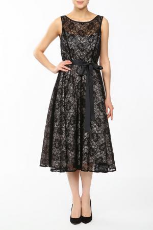Платье Frank Lyman Design. Цвет: черно-бежевый
