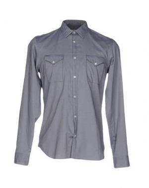 Pубашка MANUEL RITZ WHITE. Цвет: серый