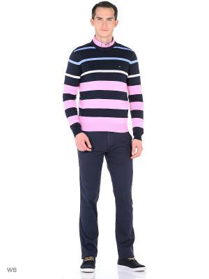 Джемпер Eden Park. Цвет: темно-синий, розовый, белый