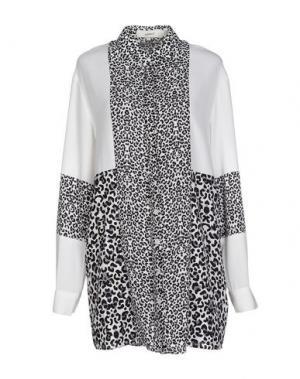 Короткое платье CAMEO. Цвет: белый