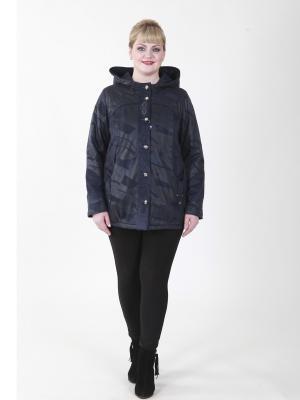 Куртка Самуэль VIKO. Цвет: темно-синий