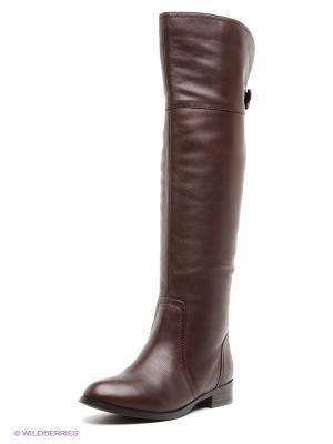 Ботфорты Covani. Цвет: коричневый