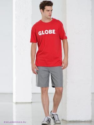 Шорты Globe. Цвет: серый