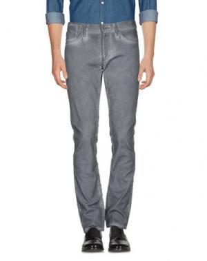 Повседневные брюки JOHN VARVATOS ★ U.S.A.. Цвет: свинцово-серый