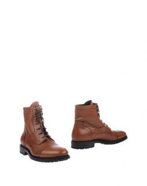 Полусапоги и высокие ботинки DOUCAL'S. Цвет: желто-коричневый