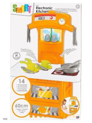 Маленькая электронная кухня Smart HTI. Цвет: зеленый, оранжевый, бирюзовый, светло-зеленый, темно-серый, серо-зеленый, серебристый, серый меланж