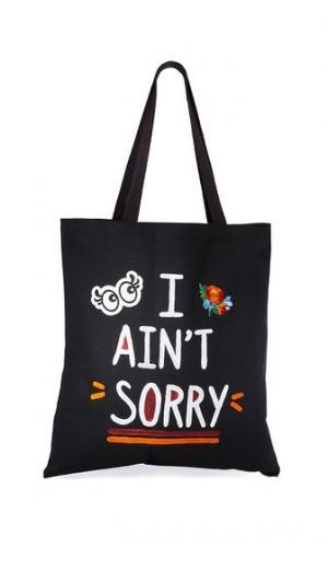 Объемная сумка Aint Sorry с короткими ручками Zhuu