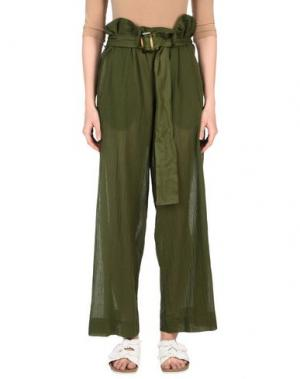 Повседневные брюки ..,MERCI. Цвет: зеленый