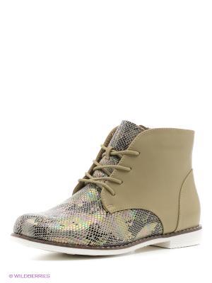 Ботинки Kari. Цвет: бежевый