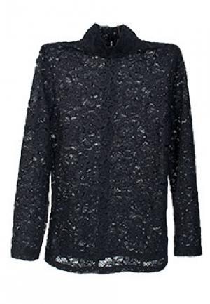 Блуза VIA TORRIANI 88. Цвет: черный