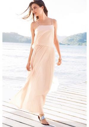 Платье Next. Цвет: розовый