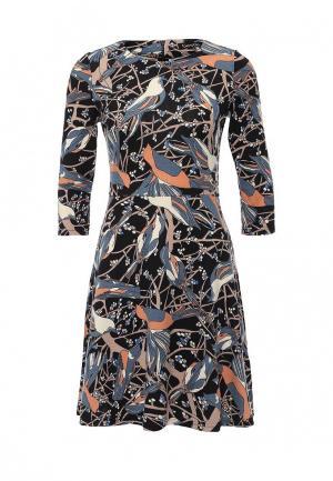 Платье Bestia. Цвет: разноцветный