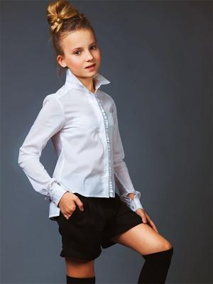 Блузка babyAngel. Цвет: белый