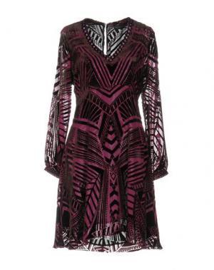 Короткое платье HALE BOB. Цвет: розовато-лиловый