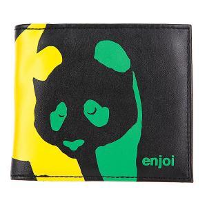 Кошелек  Panda Wallet Black/Rasta Enjoi. Цвет: черный