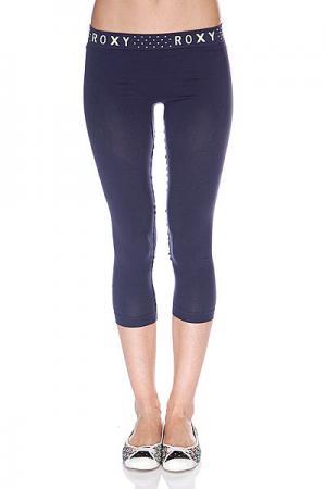 Термобелье (низ)  Seamless 3/4 Legging Peacoat Roxy. Цвет: фиолетовый