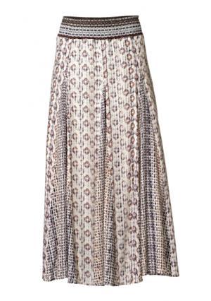Юбка макси Linea Tesini. Цвет: цветной