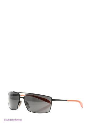 Очки солнцезащитные RH 802S 03 Zerorh. Цвет: черный, оранжевый
