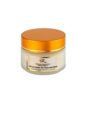 Крем-лифтинг для лица и шеи с маслом макадамии Debora Cosmetics. Цвет: бежевый