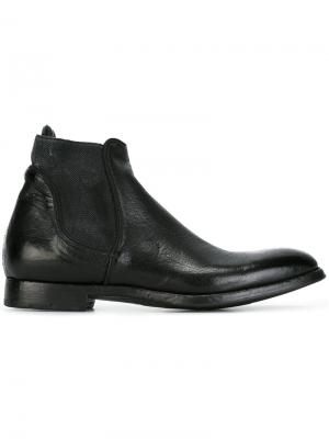 Ботинки челси Sasha Alberto Fasciani. Цвет: чёрный