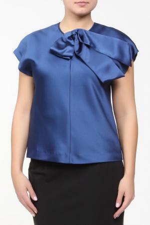 Блуза Clips. Цвет: синий