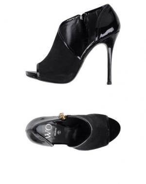 Ботинки WO MILANO. Цвет: черный