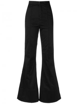 High waist flared trousers Amapô. Цвет: чёрный