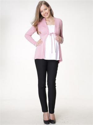 Блузки Budumamoy. Цвет: розовый, белый