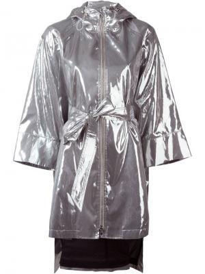 Пальто Emily Wanda Nylon. Цвет: металлический