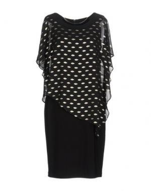 Короткое платье JOSEPH RIBKOFF. Цвет: черный