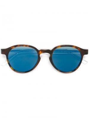 Солнцезащитные очки Iconic Retrosuperfuture. Цвет: коричневый