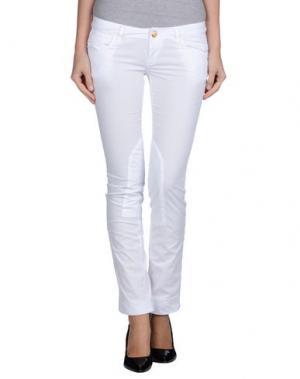 Повседневные брюки AMY GEE. Цвет: белый