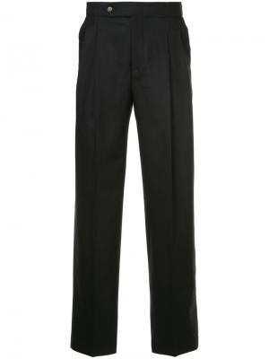 Строгие брюки со складками Éditions M.R. Цвет: чёрный