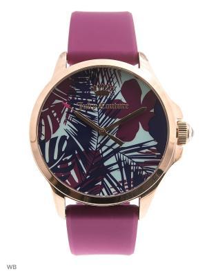 Часы Juicy Couture. Цвет: розовый, золотистый