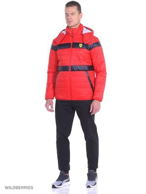 Куртка SF Padded Jacket Puma. Цвет: красный