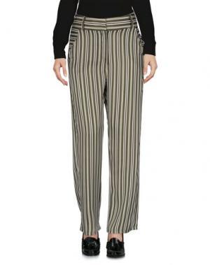 Повседневные брюки RUE 45. Цвет: зеленый-милитари