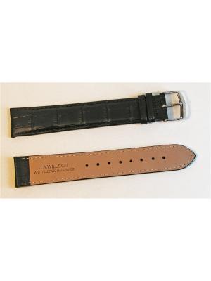 Ремень для часов, им.АЛЛИГАТОРА, удлиненный, т.кор., 22 x 20 мм, XXL J.A. Willson. Цвет: темно-коричневый