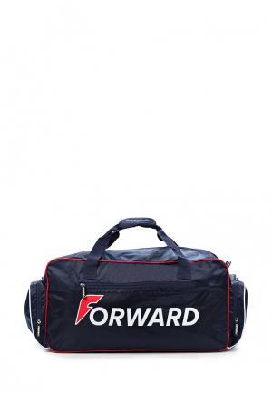 Сумка спортивная Forward. Цвет: синий