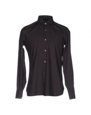 Pубашка GIAMPAOLO. Цвет: красно-коричневый