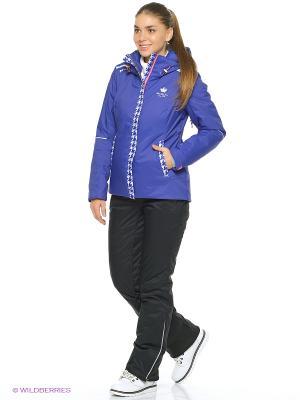 Куртка Stayer. Цвет: фиолетовый, белый