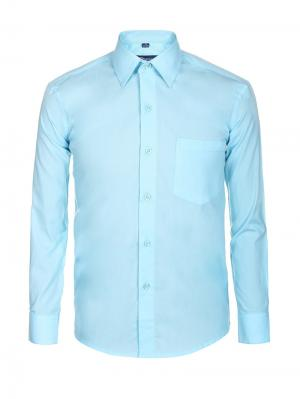 Рубашка Brostem. Цвет: голубой