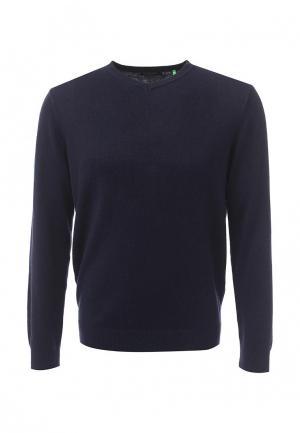 Пуловер Sela. Цвет: синий